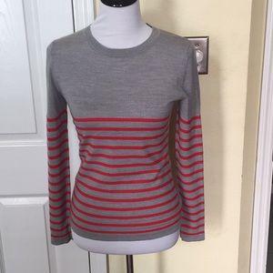 Patagonia merino wool stripe sweater